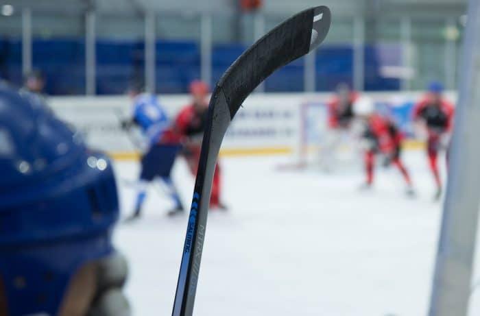 expulsion lors d'un match de hockey