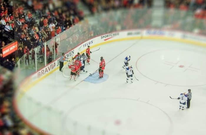 compétition hockey sur glace